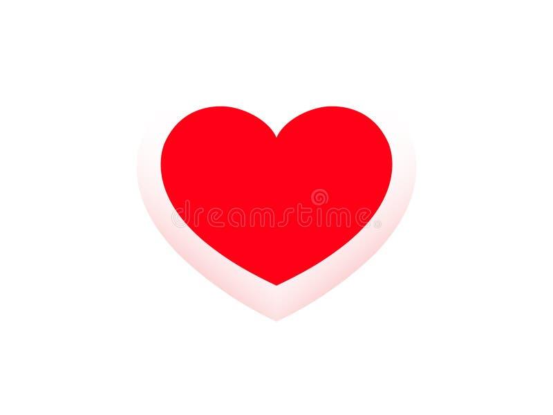 Postcard Happy Valentine royalty free stock photo