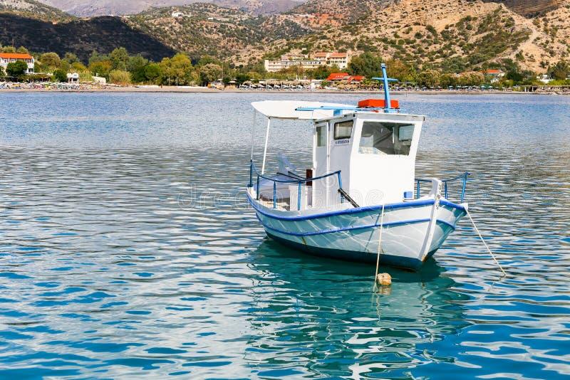 Postcard Idyll in Greece stock photo