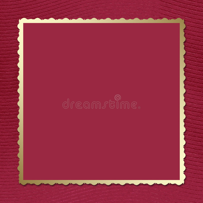 Download Postcard-invitation To The Claret Background Stock Illustration - Illustration of events, card: 4431254