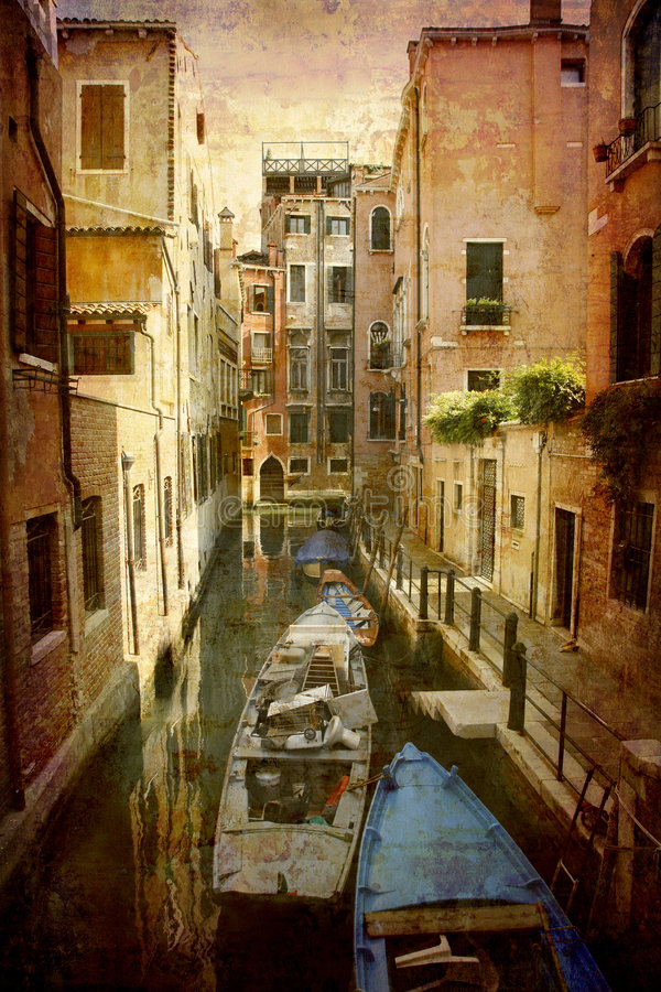 Postcard from Italy (series) stock image