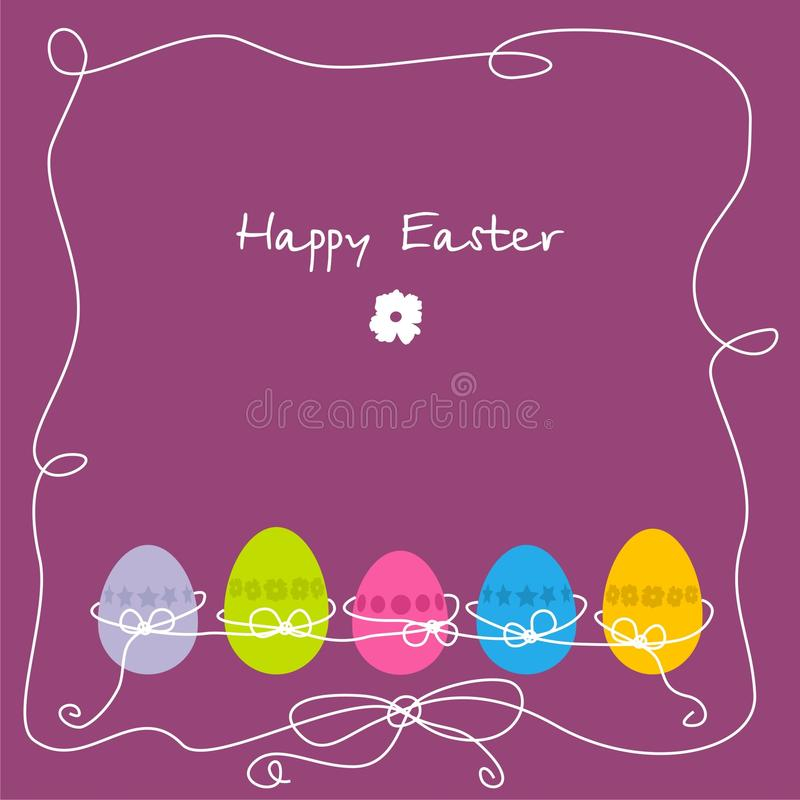 Free Postcard On Easter Royalty Free Stock Photos - 12982058