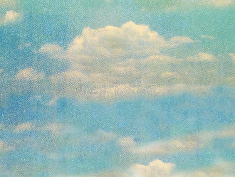 Postcard sky background texture macro. Image royalty free stock image