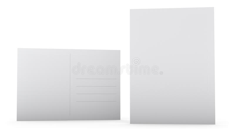 Postcard Template Stock Illustration Illustration Of Address - Postcard front and back template