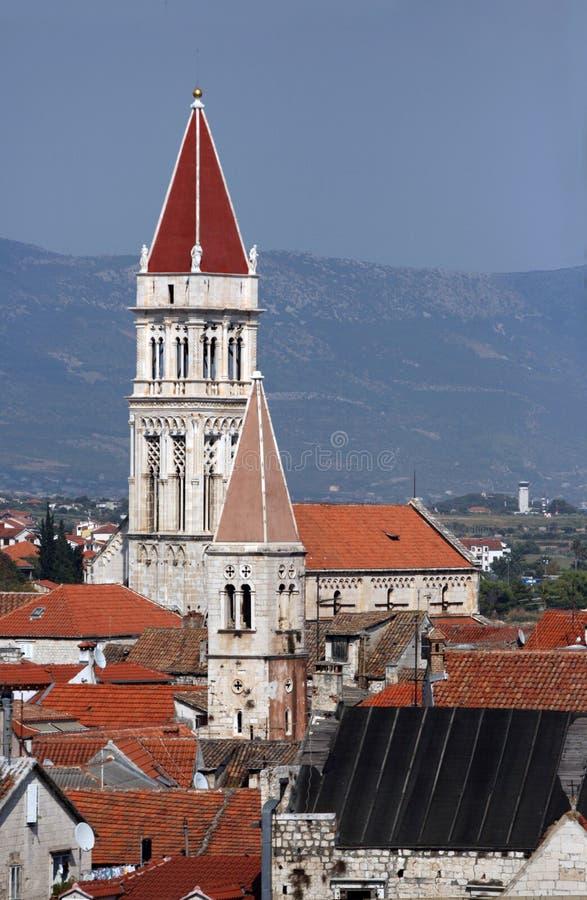 Postcard from Trogir, Croatia royalty free stock photos