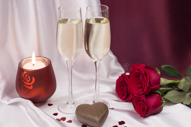 Postcard for Valentine`s day. royalty free stock photo