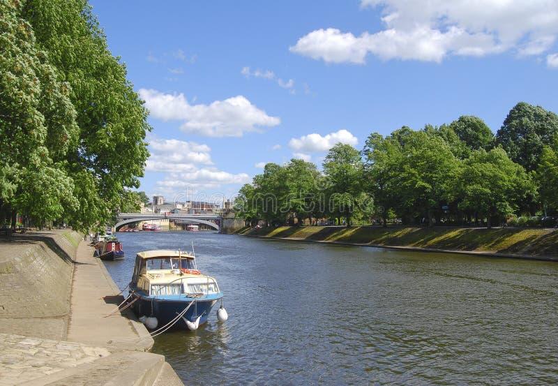 Postcard View Of York Royalty Free Stock Image