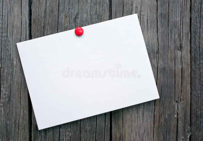 Download Postcard On Wooden Boards Royalty Free Stock Photo - Image: 27441515