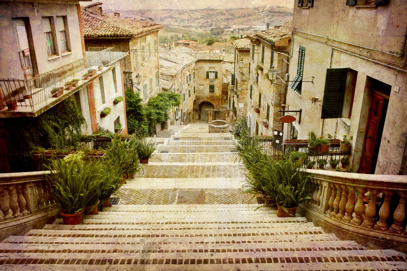 Postcards from Italy (series) stock photography