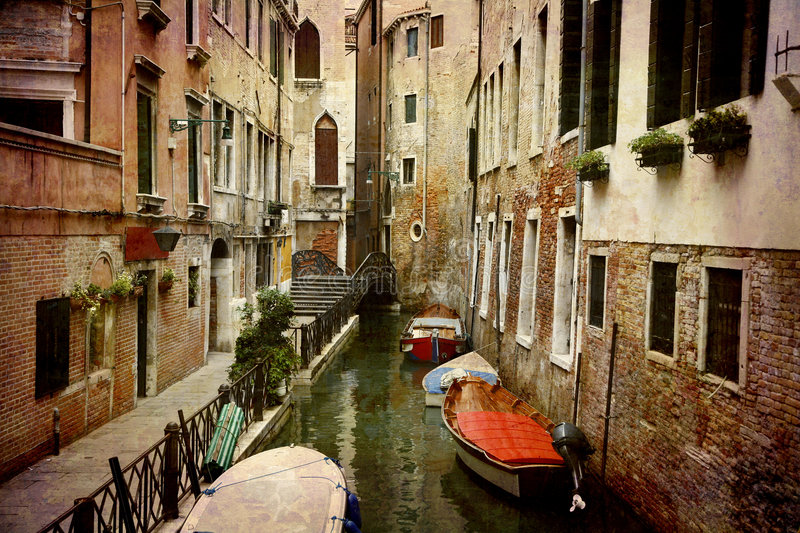 Postcards from Italy (series) stock image