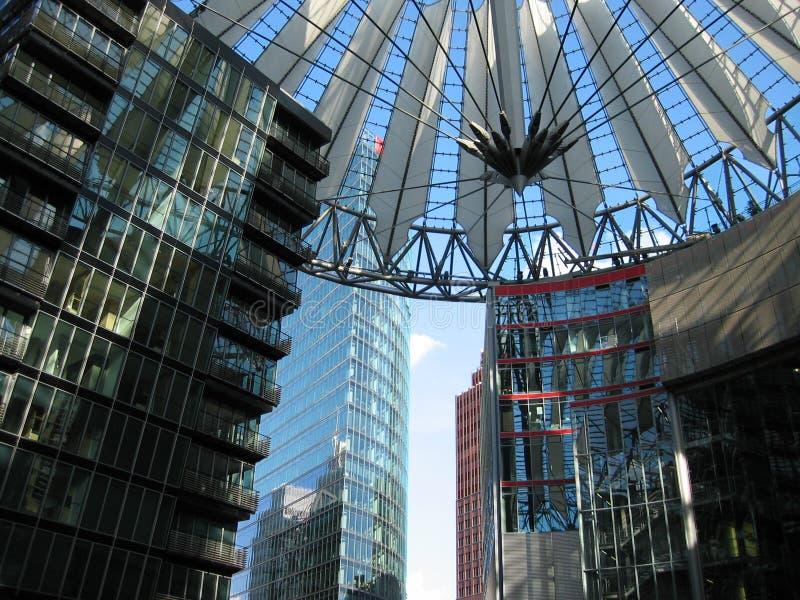 Postdamer Platz royalty-vrije stock foto