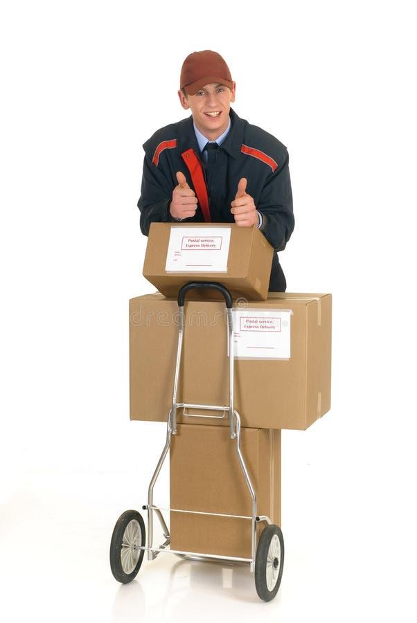 Postdienstanlieferung lizenzfreies stockfoto