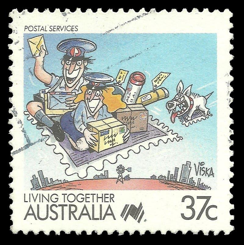 Postdienste stockfoto