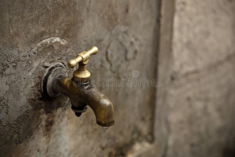 Poste d'eau potable photo libre de droits
