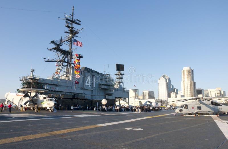 Poste de pilotage d'USS intermédiaire photos libres de droits