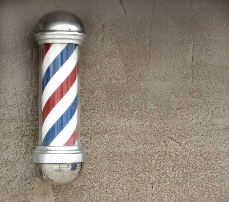 Poste del peluquero imágenes de archivo libres de regalías