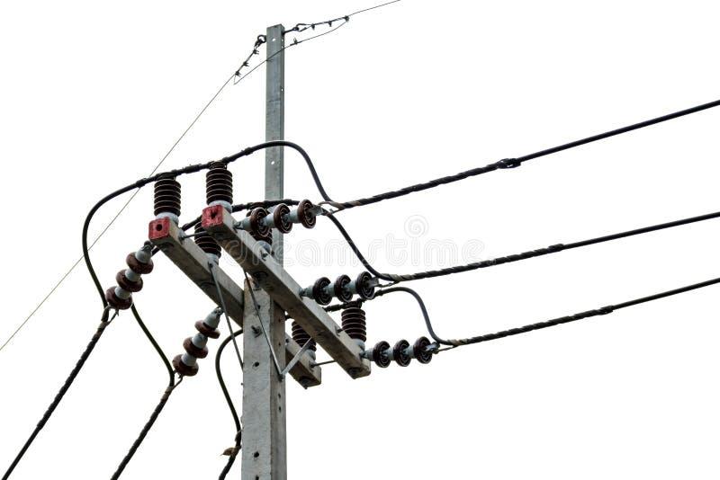Poste eléctrico fotos de archivo