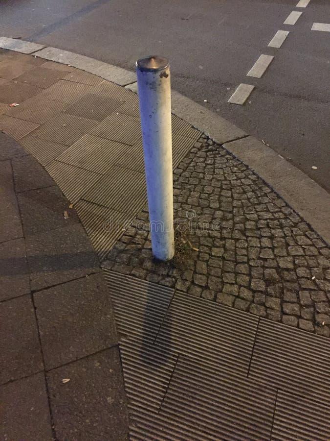 Poste en la calle fotografía de archivo
