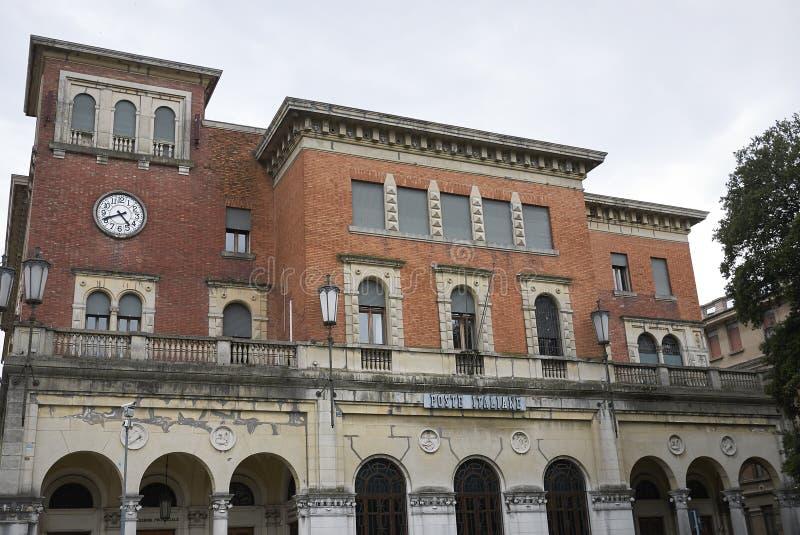 Poste Italiane大厦 免版税库存图片