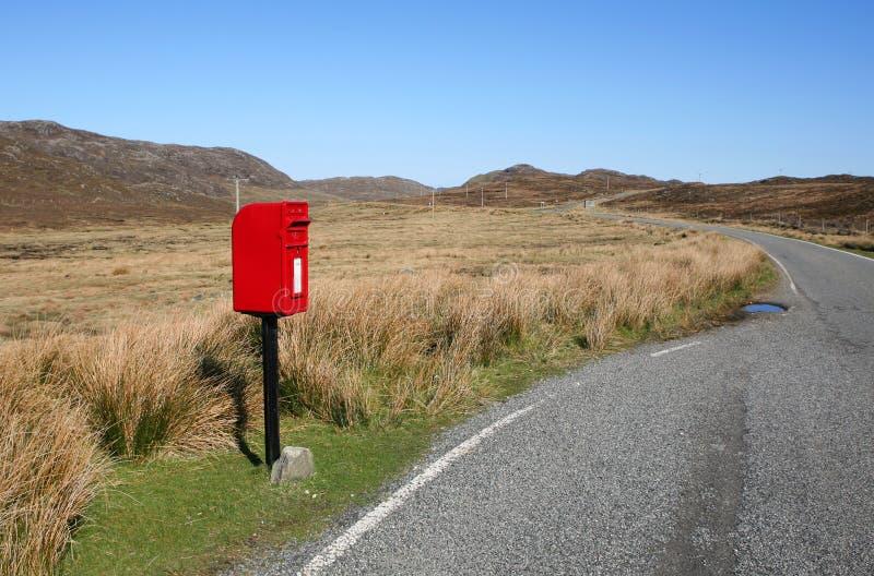 Poste rural imagen de archivo