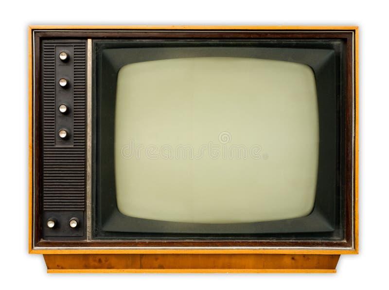 Poste TV de cru photos stock