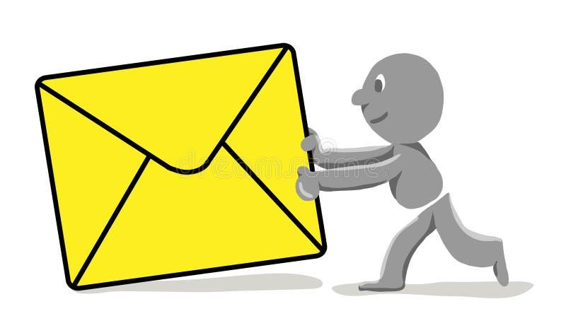 Posten vector illustratie