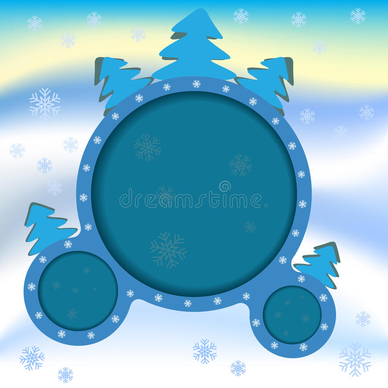 Download Poster Advertising The Winter Stock Illustration - Image: 33480921