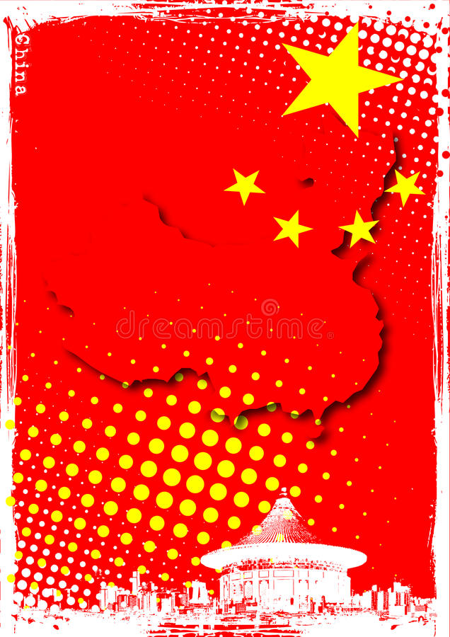 Download Poster of china stock vector. Illustration of beijing - 17694137