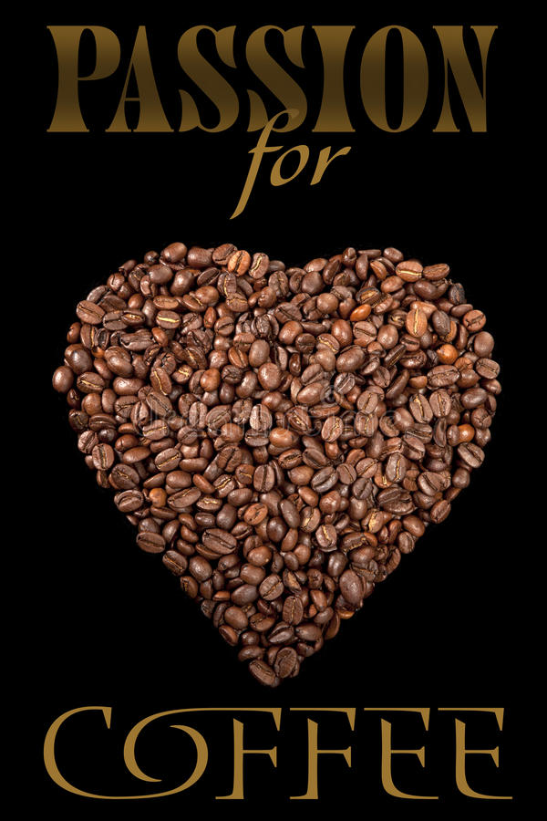 Download The Poster With Coffee Beans Stock Photo - Image of espresso, food: 17271318