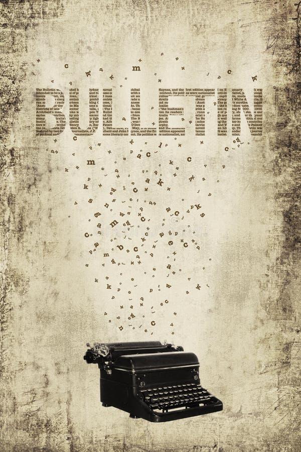 Poster do boletim imagem de stock