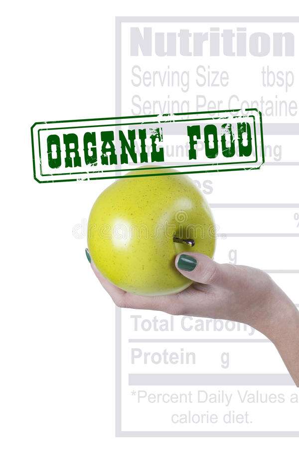 Poster Organic food royalty free stock photo