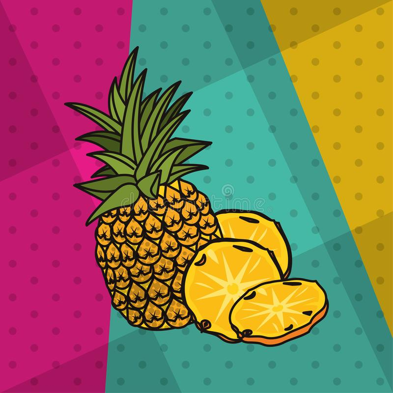 Style Pineapple Stock Illustrations 8861 Style Pineapple
