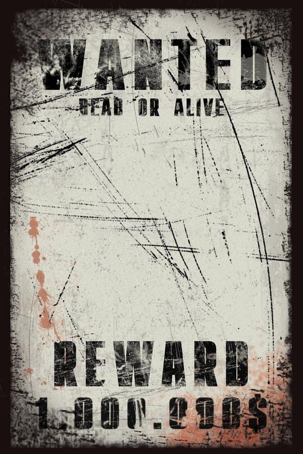 Poster querido ilustração do vetor