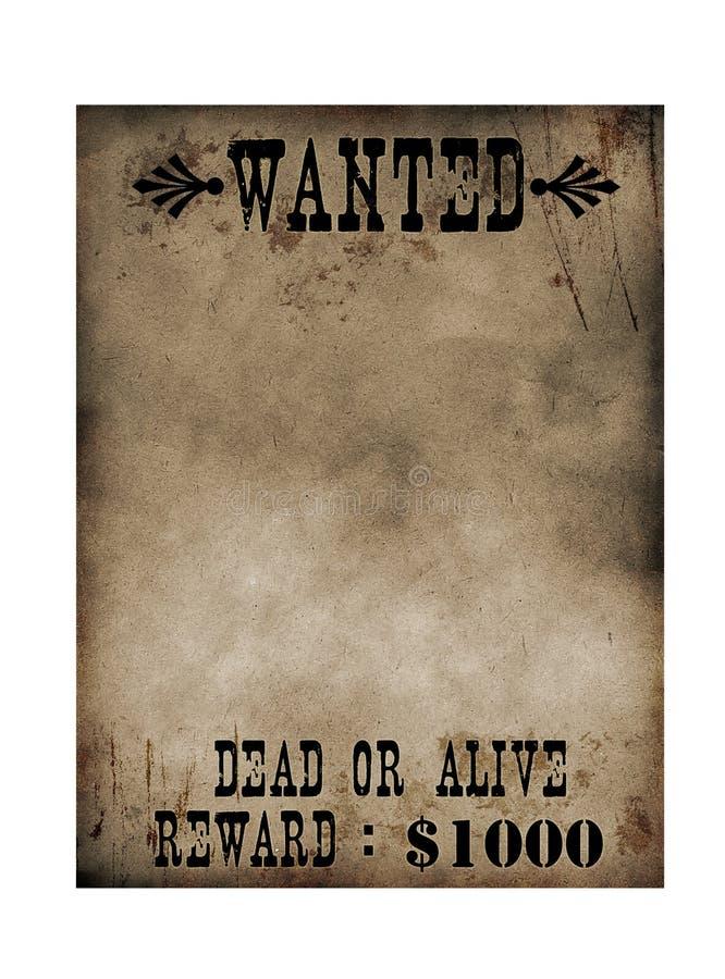 Poster querido ilustração royalty free