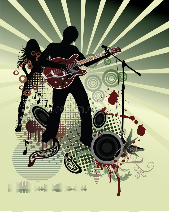 Free Poster,rock Festival Band Stock Photos - 8108743