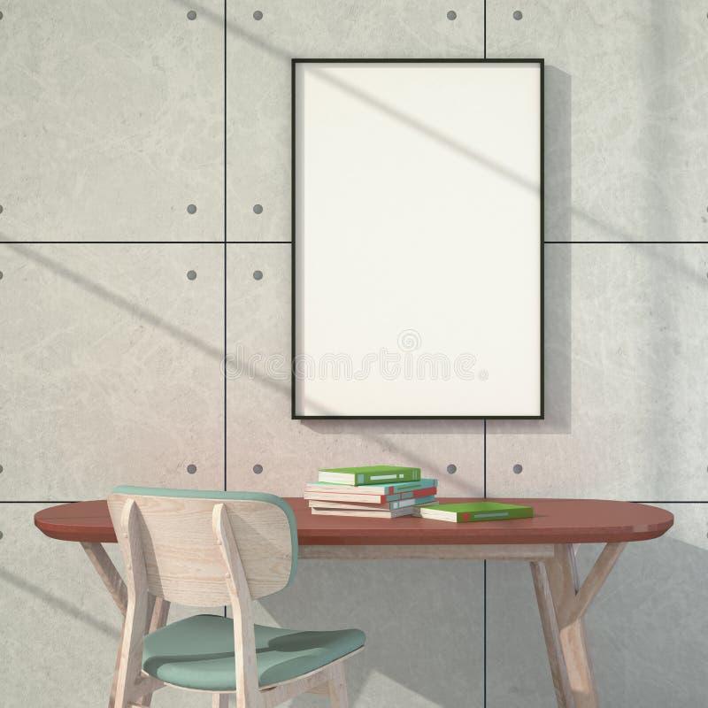 Poster vazio Luz através do indicador fotografia de stock royalty free