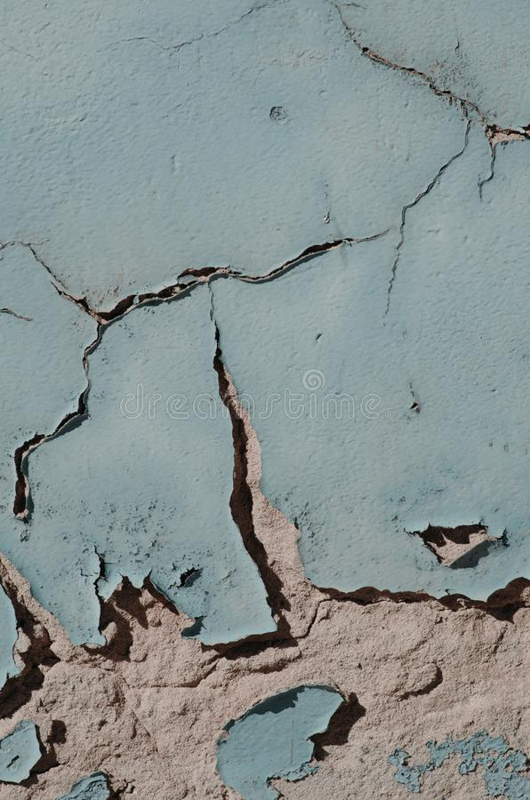 Poster: wall with old paint. Poster: wall with old pastel paint stock image