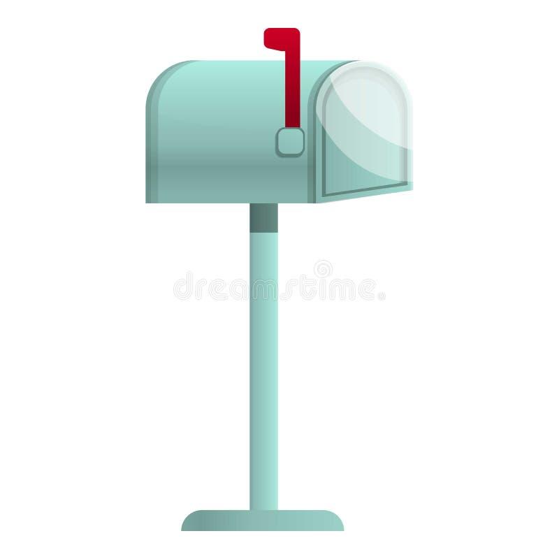 Posthauskastenikone, Karikaturart stock abbildung