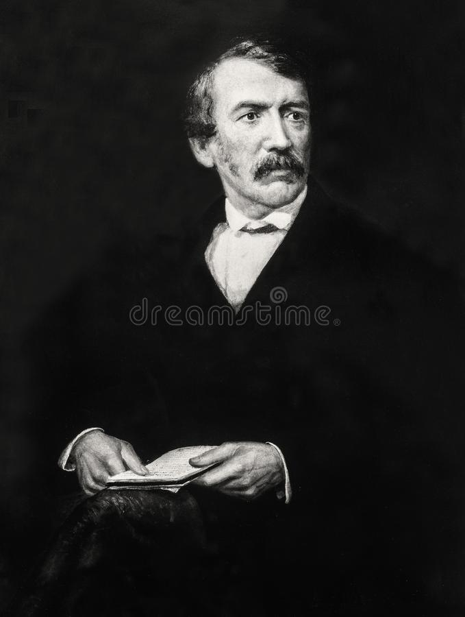 Free Posthumous Portrait Of David Livingstone By Frederick Havill Stock Images - 154033114