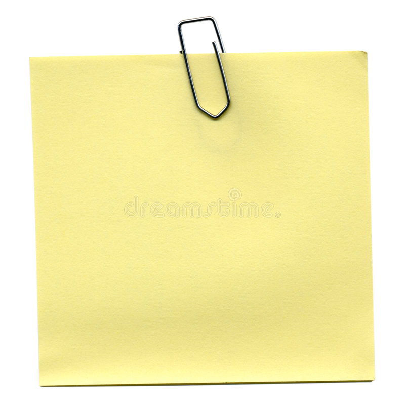 Download Postit stock image. Image of notepad, clip, postit, note - 5307003