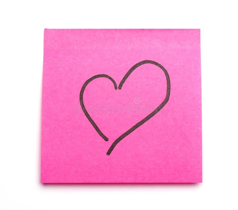 Download Postit heart stock image. Image of design, studio, board - 7874495