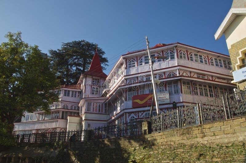 Postkantoor Shimla stock fotografie