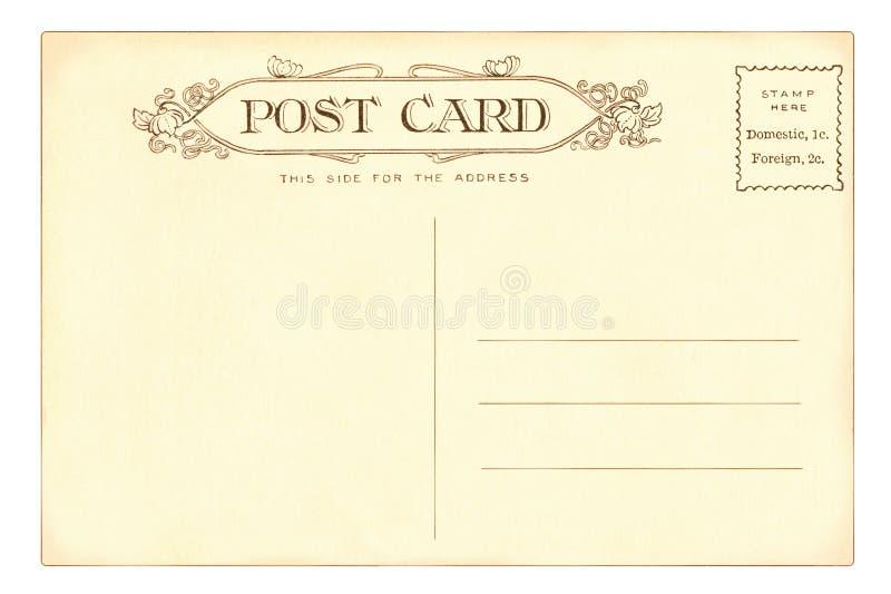 Postkarte - 1903 stockbild