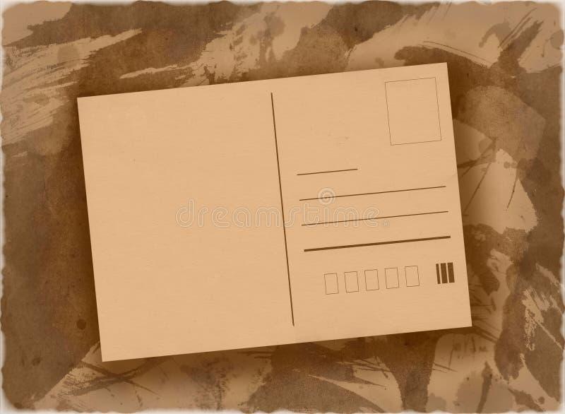 Postkartenhintergrund stock abbildung
