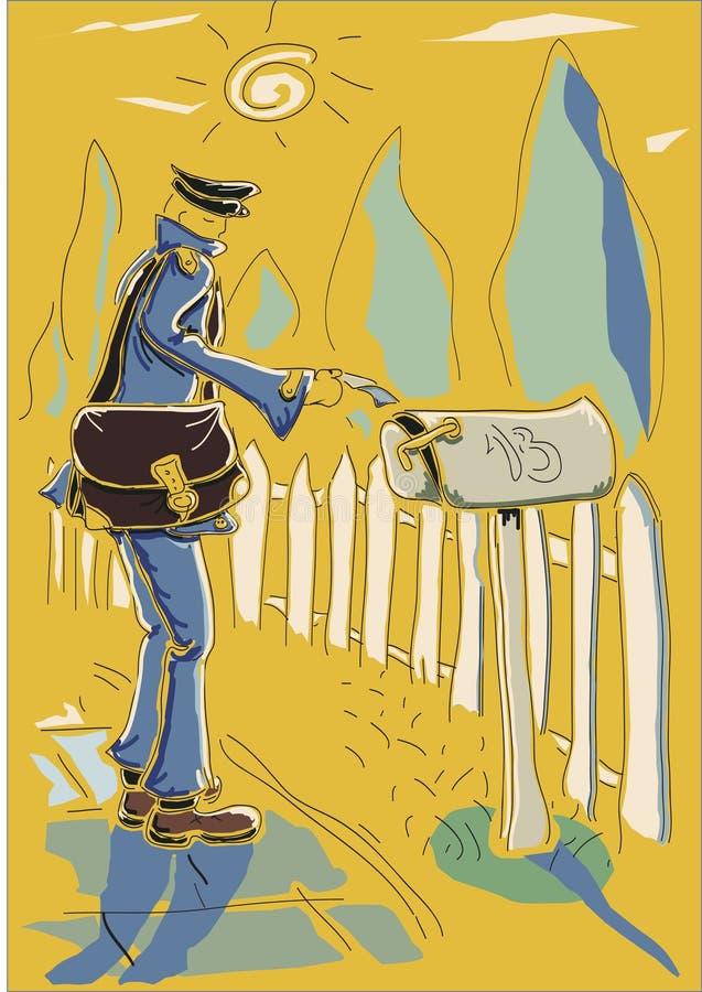 Download Postman Stock Photo - Image: 32139720