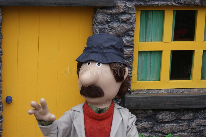 Postman Pat - Village Scenes. Postman Pat - Images within the Village royalty free stock images