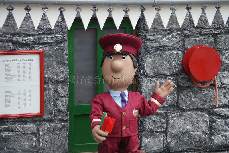 Postman Pat - Village Scenes. Postman Pat - Images within the Village stock photography