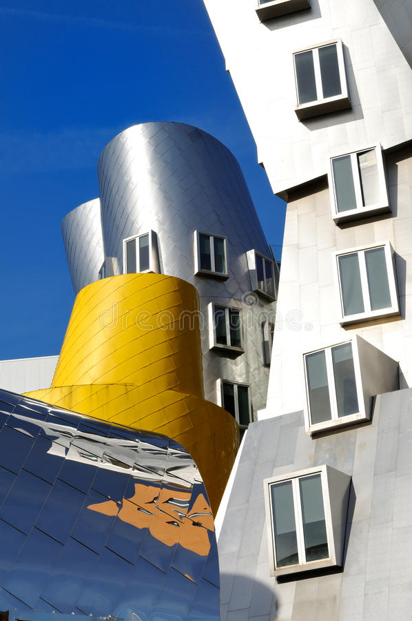 Postmodern Architecture Editorial Stock Image