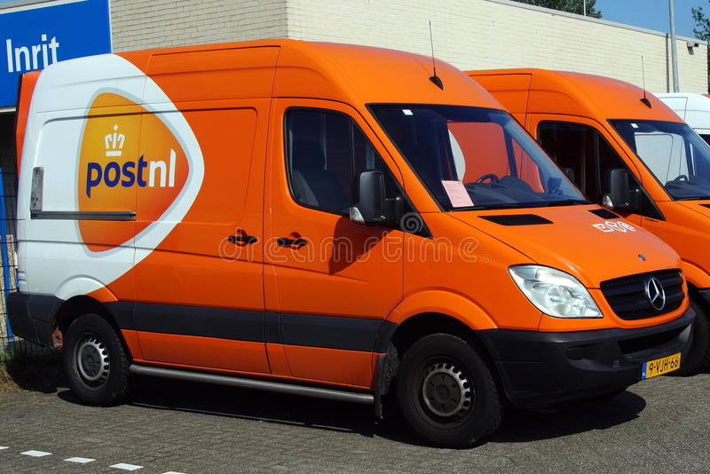 PostNL Postnl搬运车 库存图片