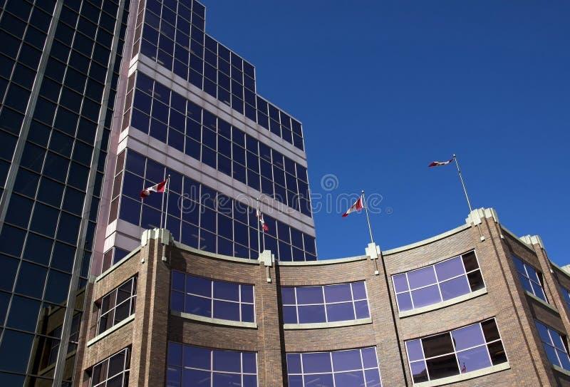 Posto del Canada, Edmonton fotografie stock