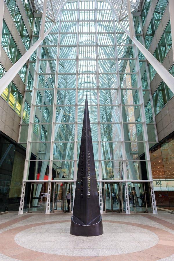 Posto di Brookfield a Toronto, Canada immagini stock